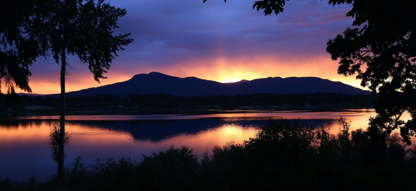 Beautiful Vancouver Island Sunset